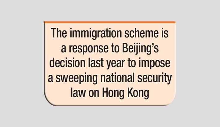 UK opens visa scheme for millions of Hong Kongers