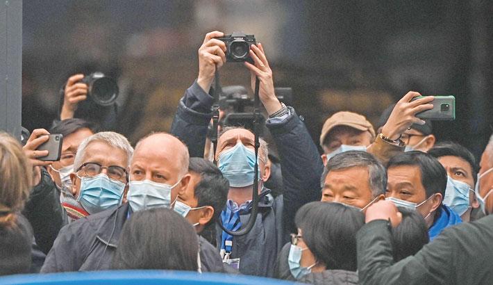 WHO corona probe team visits Wuhan market