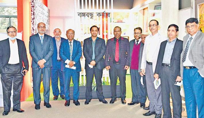 Bashundhara Group MD visits BDBL office