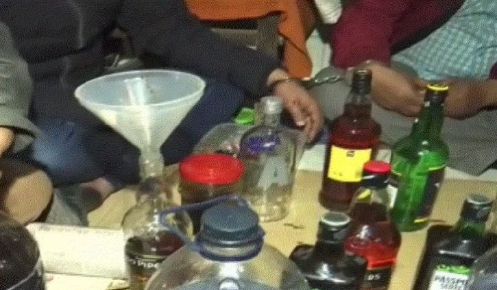 Spurious liquor factory busted, six held from Vatara