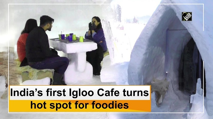 India's first Igloo Cafe turns hot spot for foodies