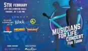 Charity concert 'Musician for Life' on Friday