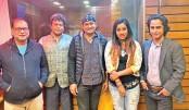 Tutul, Nakshi render playback song for 'Agun'