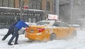 Snowstorm hits US east coast