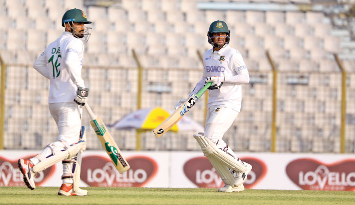 Tigers share honours with Windies