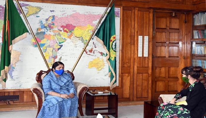 Swedish Ambassador calls on Speaker Dr Shirin Sharmin  Chy