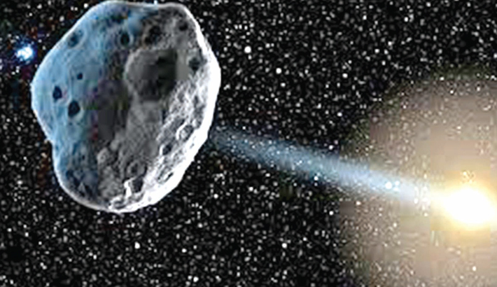 Scientists to study source of high heat on asteroid