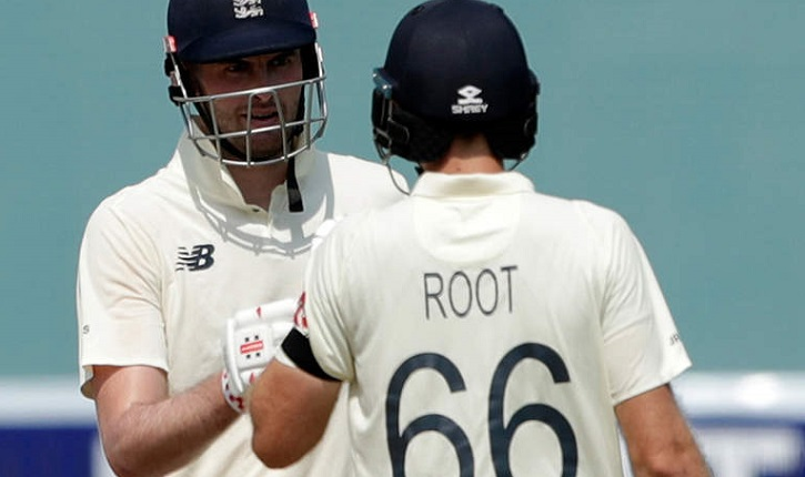 Sibley, Root take England to 140-2 in India Test