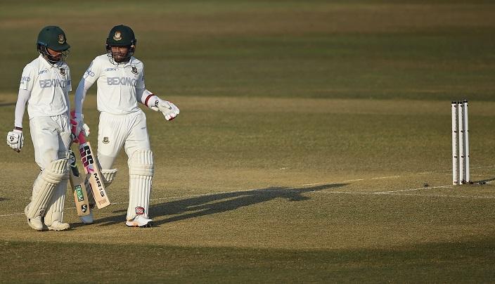 Bangladesh preparing for 350-run lead