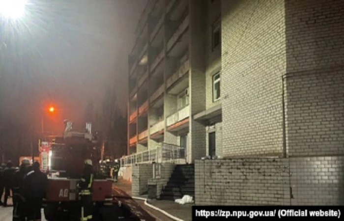 Four killed in Ukraine hospital fire