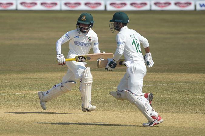 Bangladesh declare 223-8 against West Indies