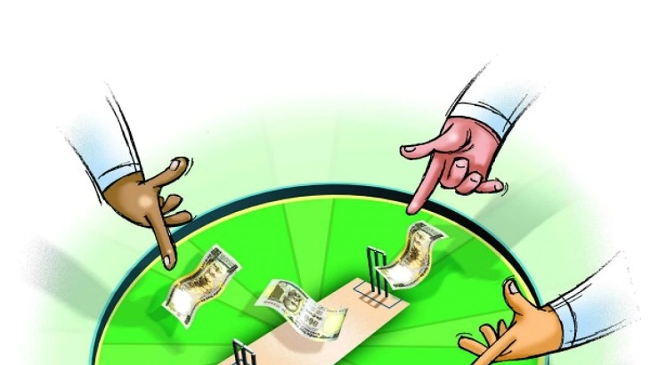 Three suspected Indian bookies detained