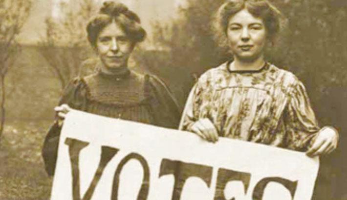 Swiss mark 50 years of women voting