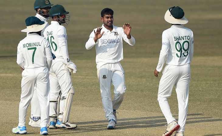 Mehidy aims for history as Bangladesh pressure West Indies in Test