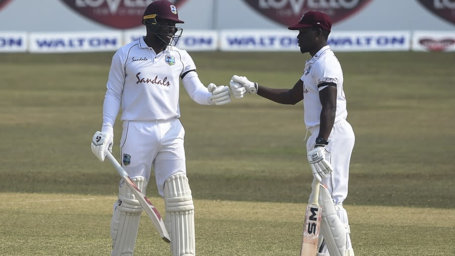 Mayers hits ton on debut to pose real challenge to hosts