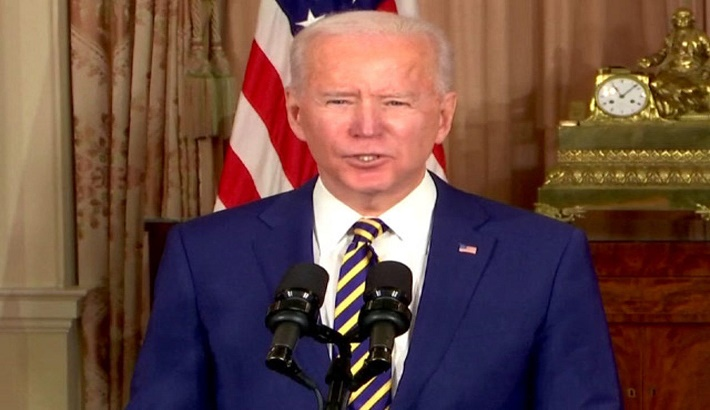 Biden calls on Myanmar military to relinquish power, release detainees