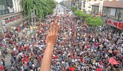 Sino-Burmese rally against coup from Taiwan safe haven