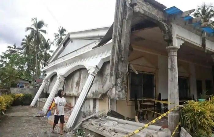 6.0-magnitude quake hits southern Philippines