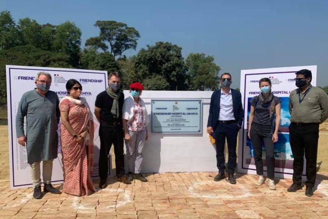 CDCS Director, French Ambassador visit Rohingya camps