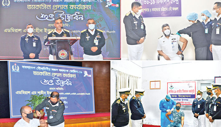 Army, Navy, Air Force start vaccination