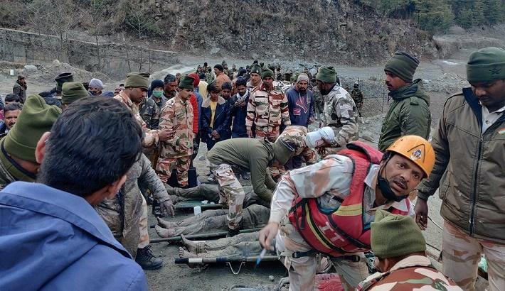 Seven dead, 170 missing after India glacier bursts dam
