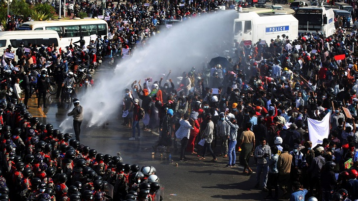 Myanmar: Growing protest since military coup
