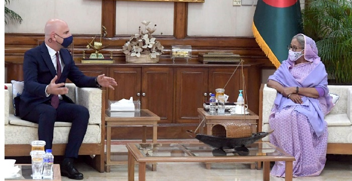 Turkish Ambassador meets Prime Minister Sheikh Hasina