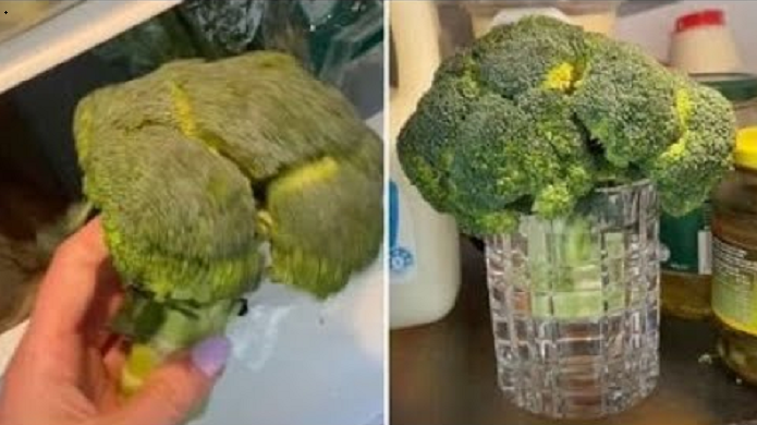 Woman shares 'magic' trick for making wilted vegetables good as new again