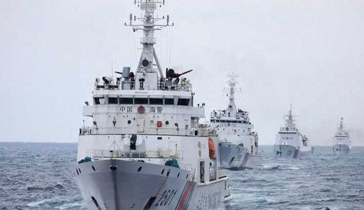 Japan conveys 'strong concerns' to China over new coast guard law