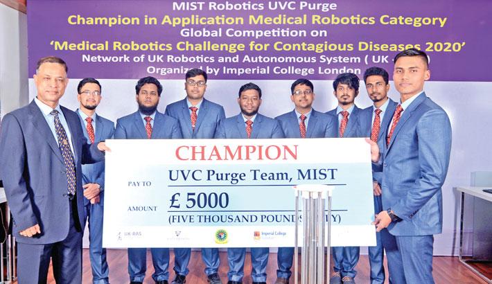 MIST wins global medical robotics competition