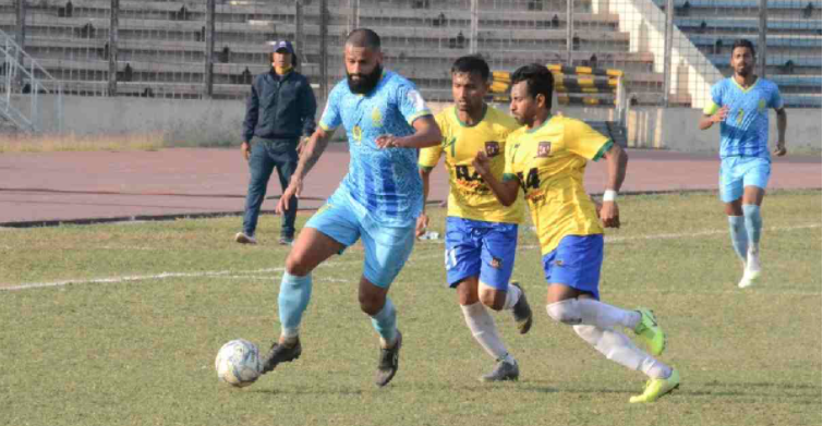 Sheikh Jamal, Abahani share points