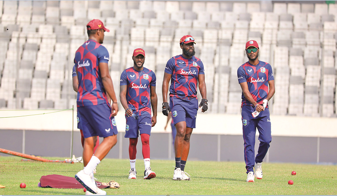 Brathwaite urges not to get carried away