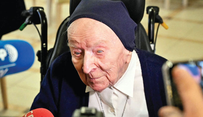 Europe's oldest person aged 116 survives corona