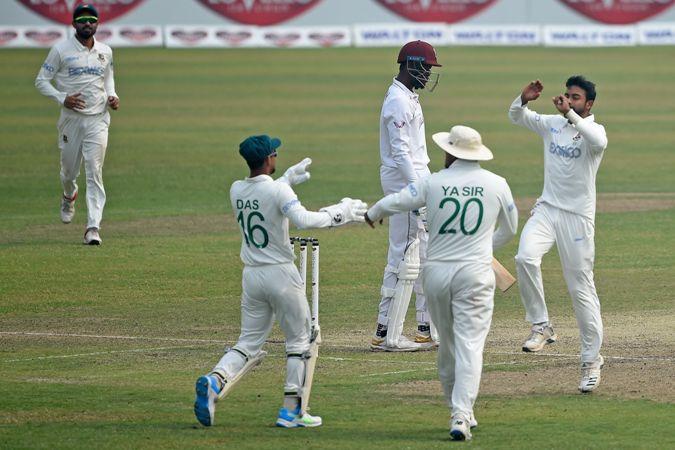 Ban v WI Dhaka Test: Bonner, Da Silva, Joseph propel tourists to 409