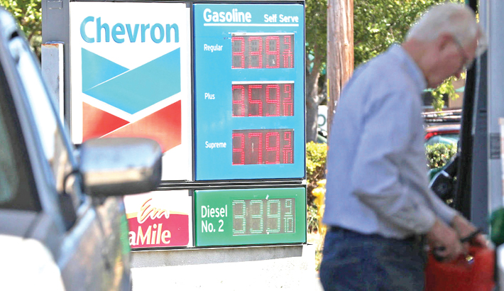 Gas prices spike but US inflation otherwise tame in Jan