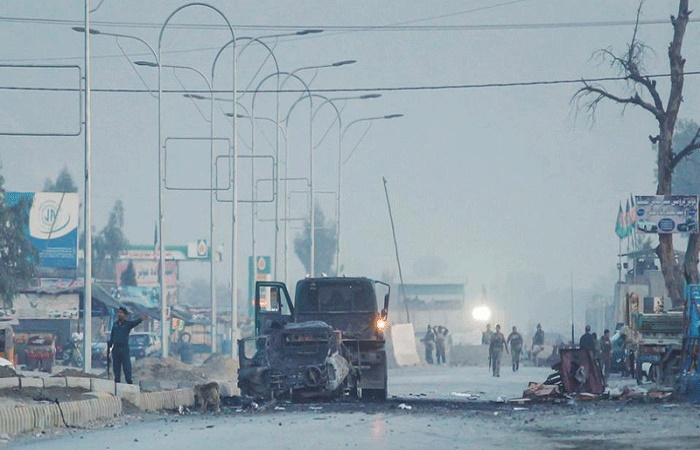 Five killed in attack on UN convoy in Afghan capital