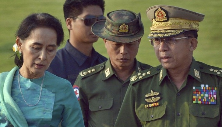 India ignores Myanmar army's argument on sacking of Suu Kyi government