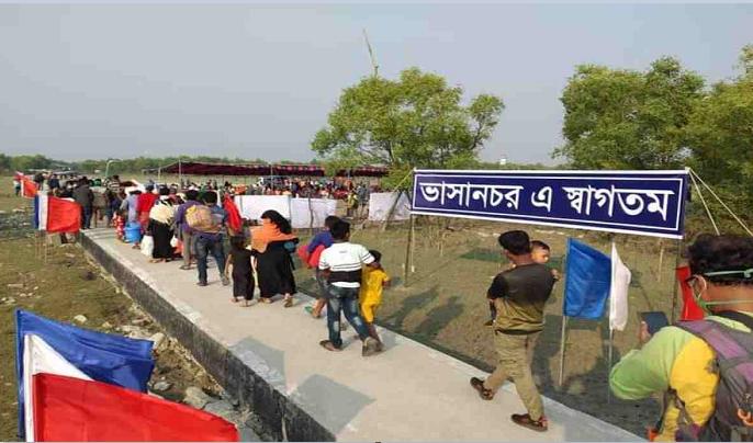 Bhasan Char: Rohingyas gradually getting involved in economic activities