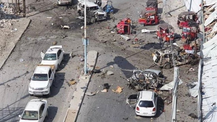 Three killed in Mogadishu car bomb