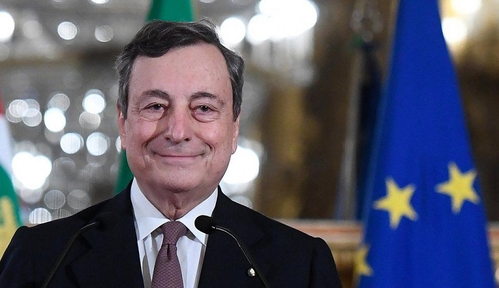 Italy's Mario Draghi to be sworn in as prime minister