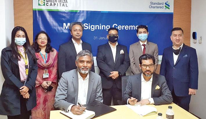 Green Delta Capital, SCB sign MoU
