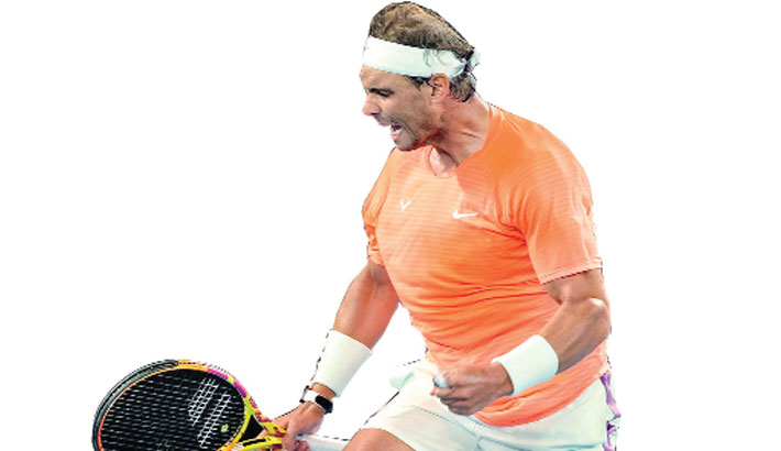 Nadal reaches Australian Open fourth round