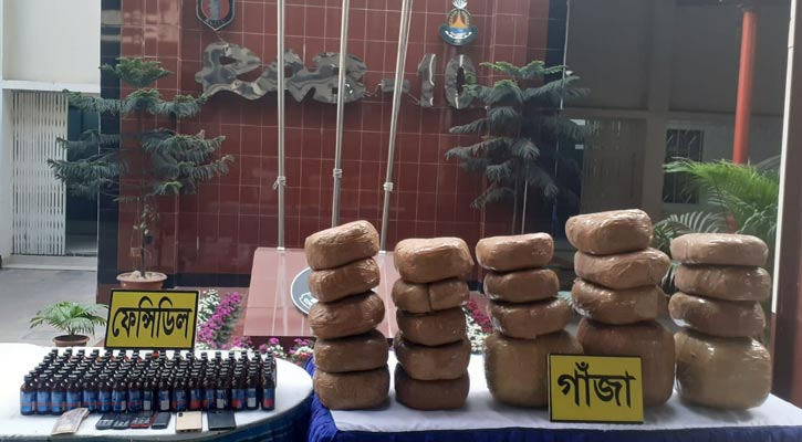 5 held with 54kg cannabis in capital