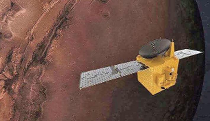 UAE 'Hope' mission returns first image of Mars