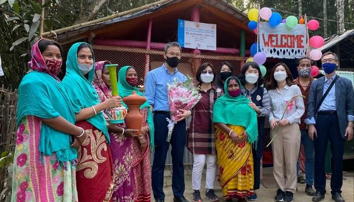 South Korean envoy visits Rohingya camp in Cox's Bazar