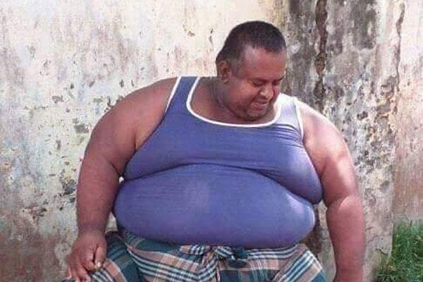 The Brahmanbaria man weighing 300kg dies