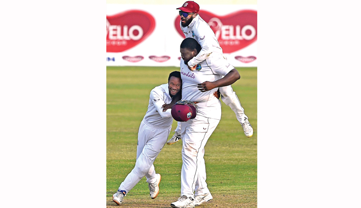 Windies over the moon after incredible series win