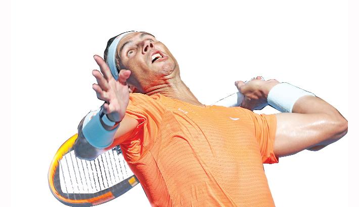 Nadal closes on Slams record