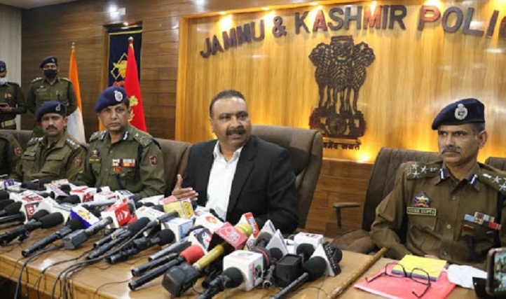 J-K police foils terror plot, arrests terrorists associated with JeM, LeT