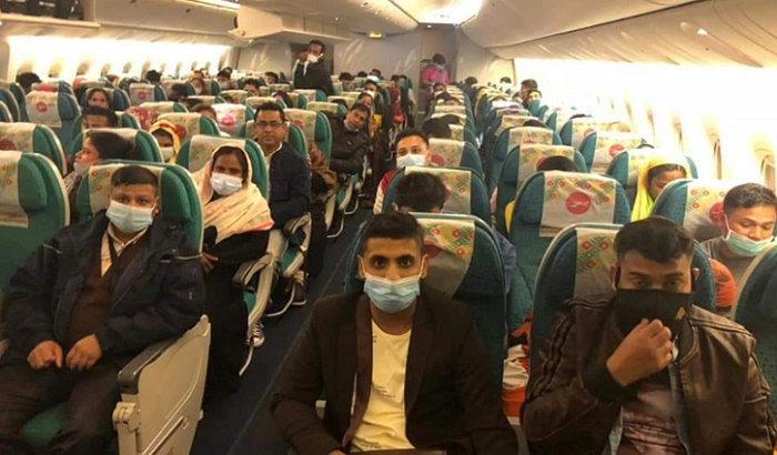 432 Bangladeshis return home from Lebanon